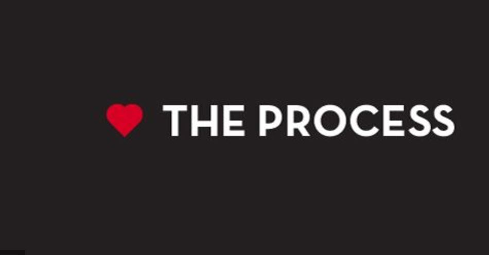 Loving the process – Anonymous!